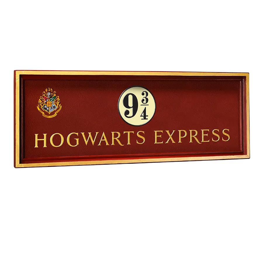 『ハリー・ポッター』【プロップレプリカ】1/1スケール 9と3/4番線サイン