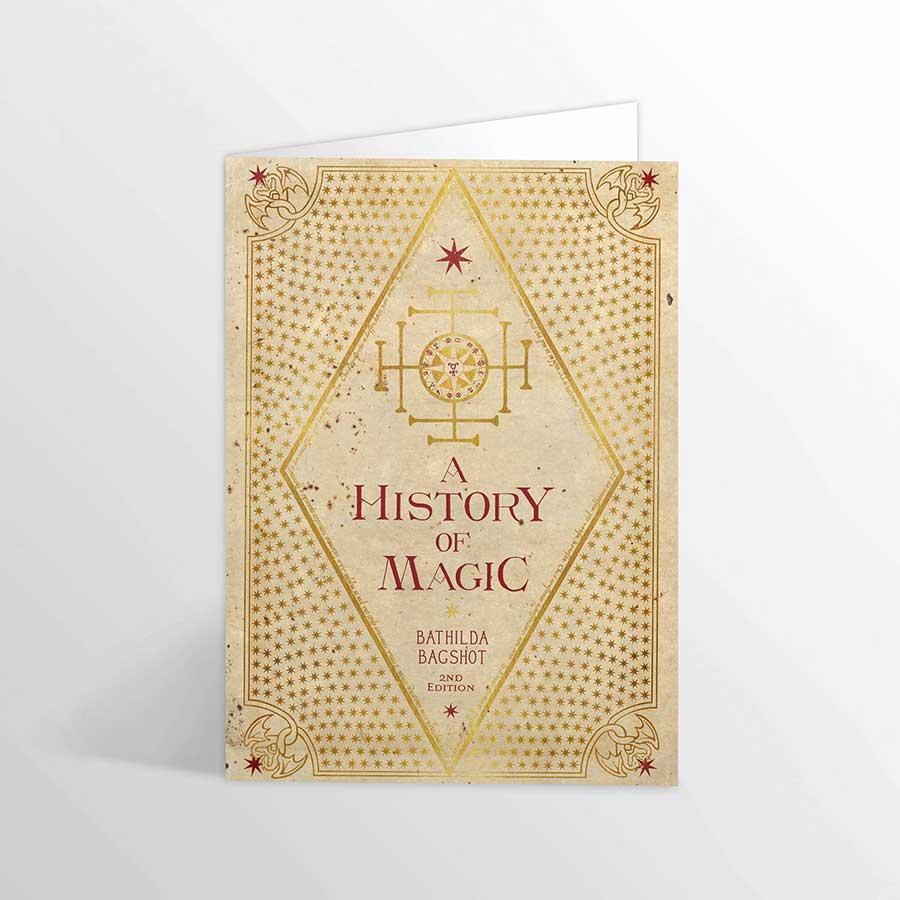 魔法史グリーティングカード