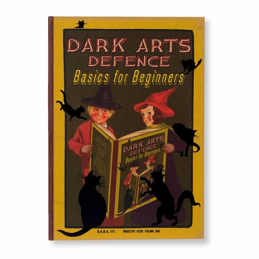 教科書表紙「闇の魔術に対する防衛術」ノート