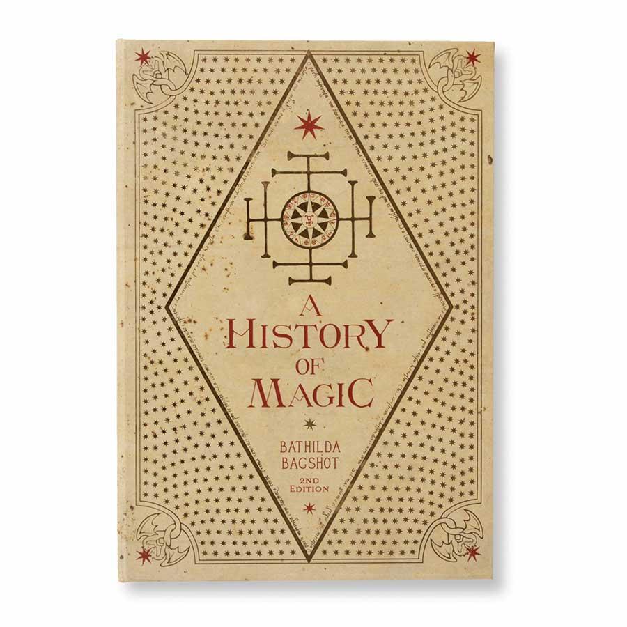 教科書表紙「魔法史」ノート