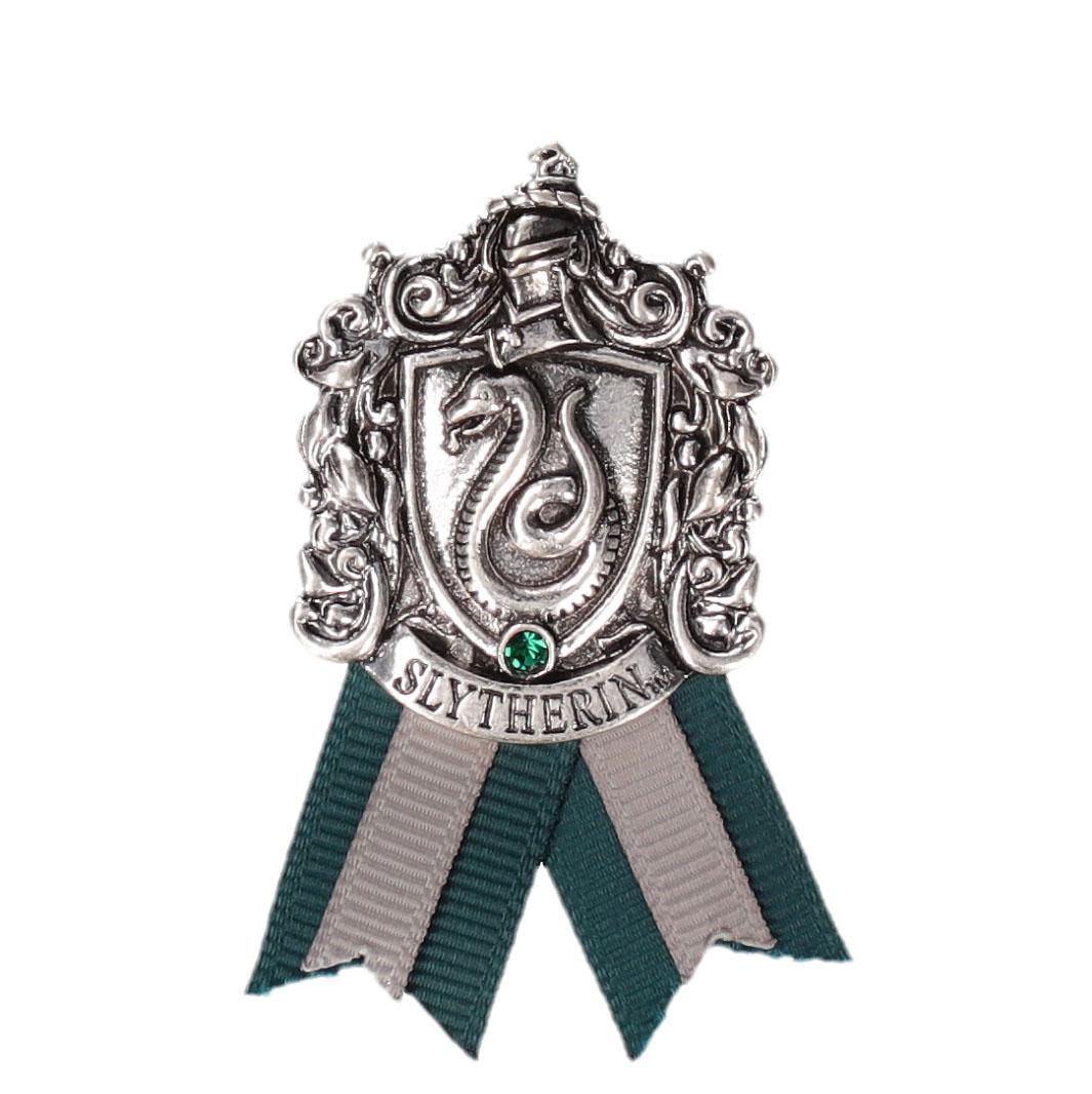 ハリー・ポッター スリザリン 紋章メタルブローチ