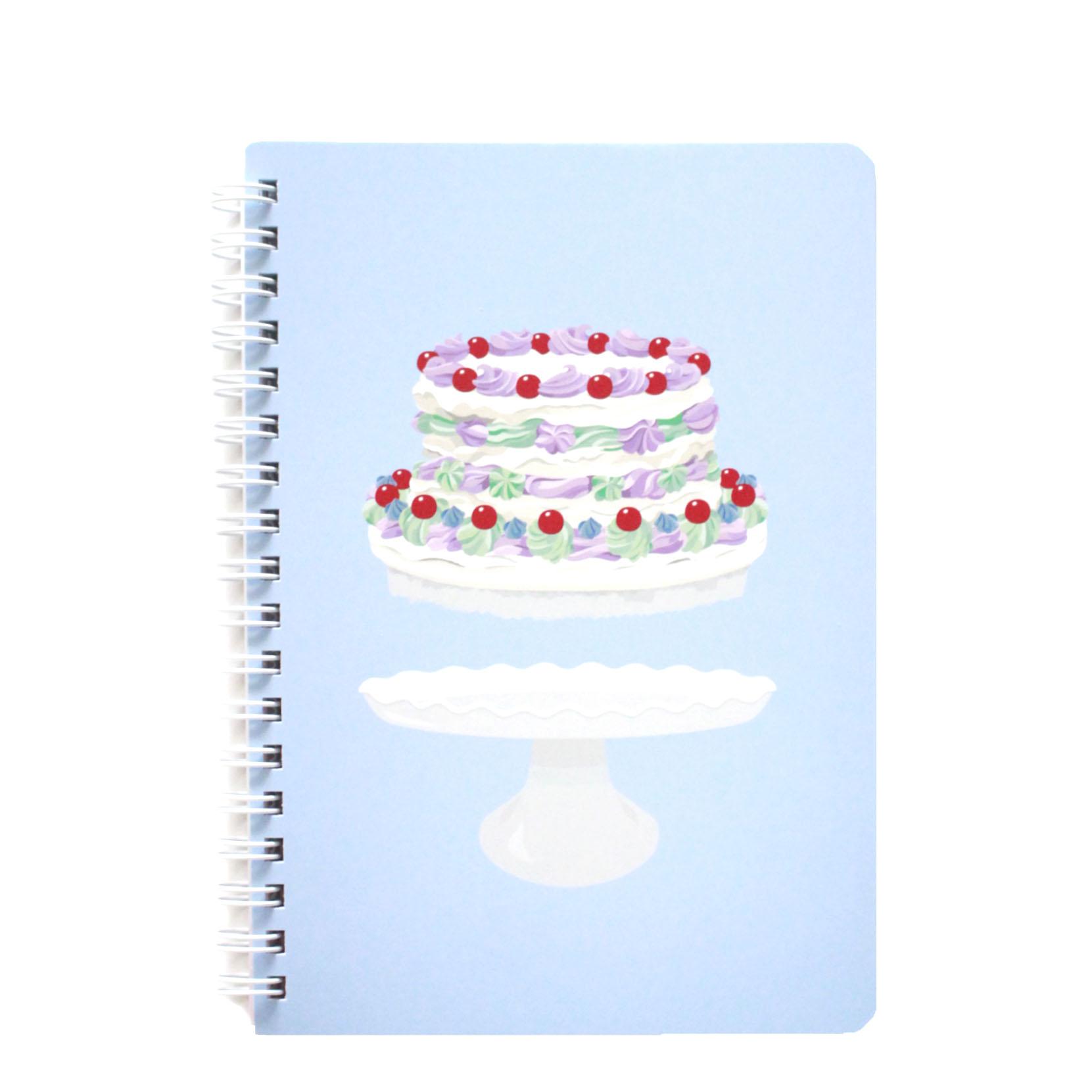 HP B6リングノート Floating cake