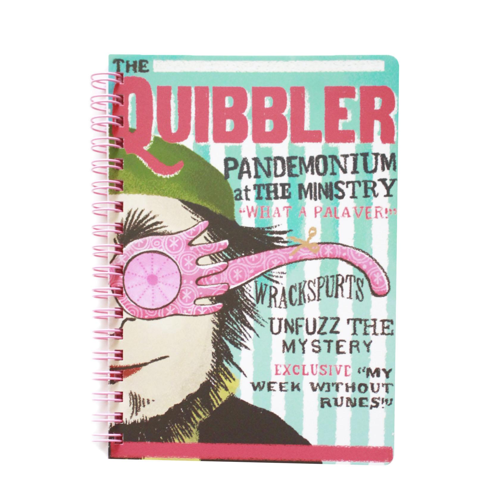 ハリー・ポッター The Quibbler B6リングノート